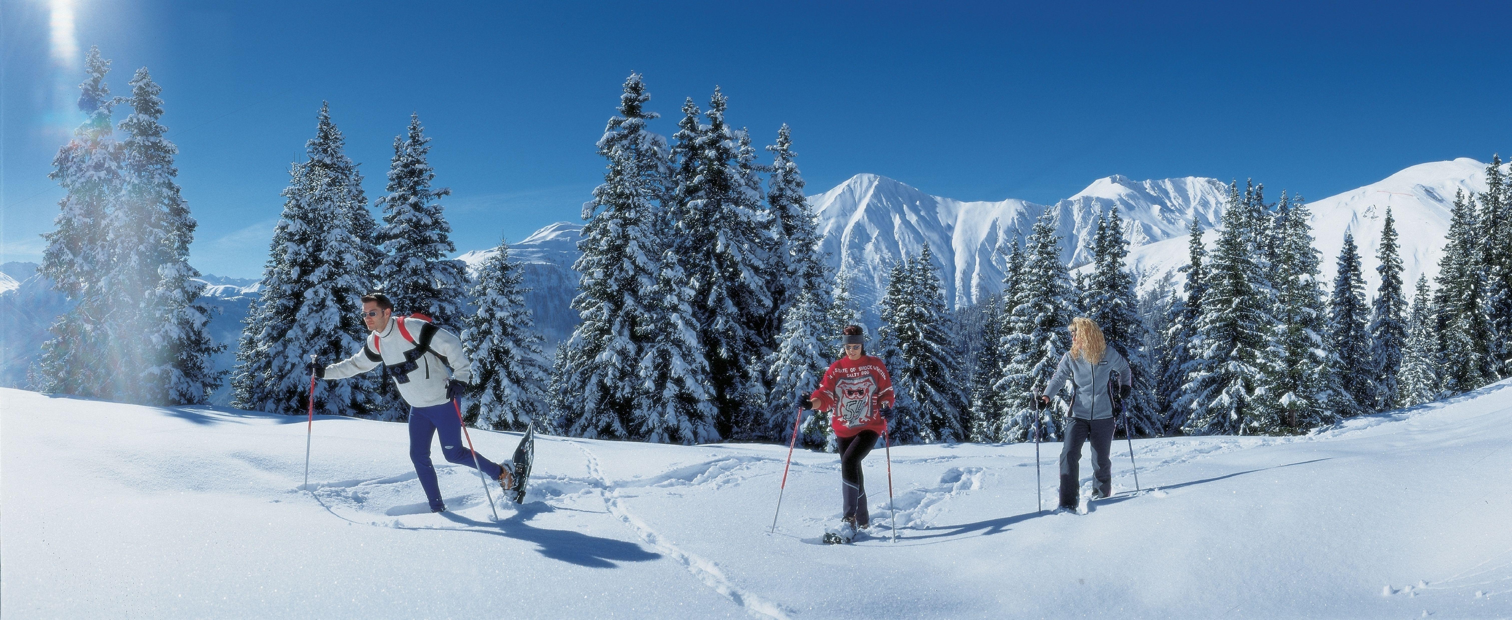 Skitouren gehen Trendsport