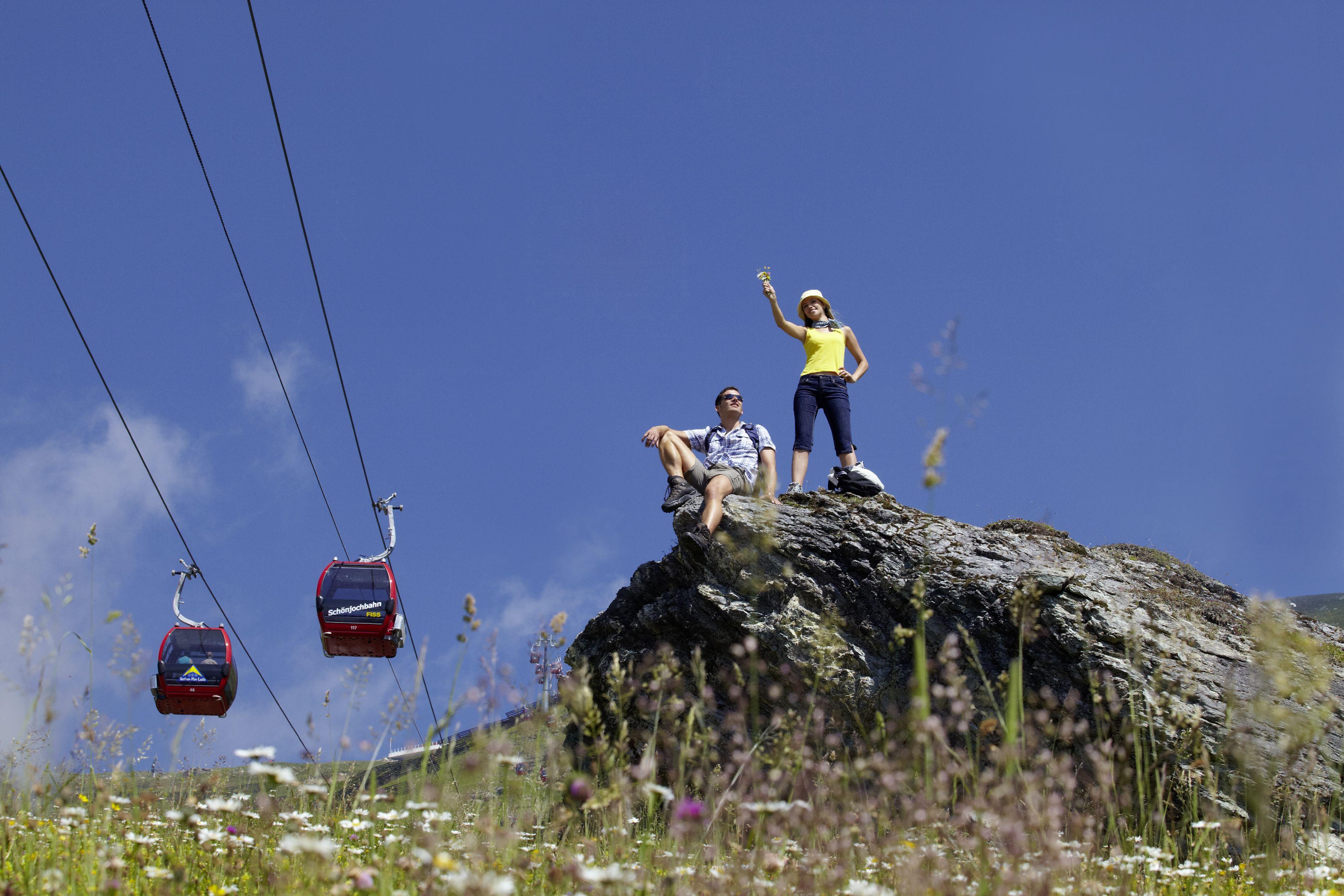 Wandererlebnis in der Alpenregion Serfaus-Fiss-Ladis