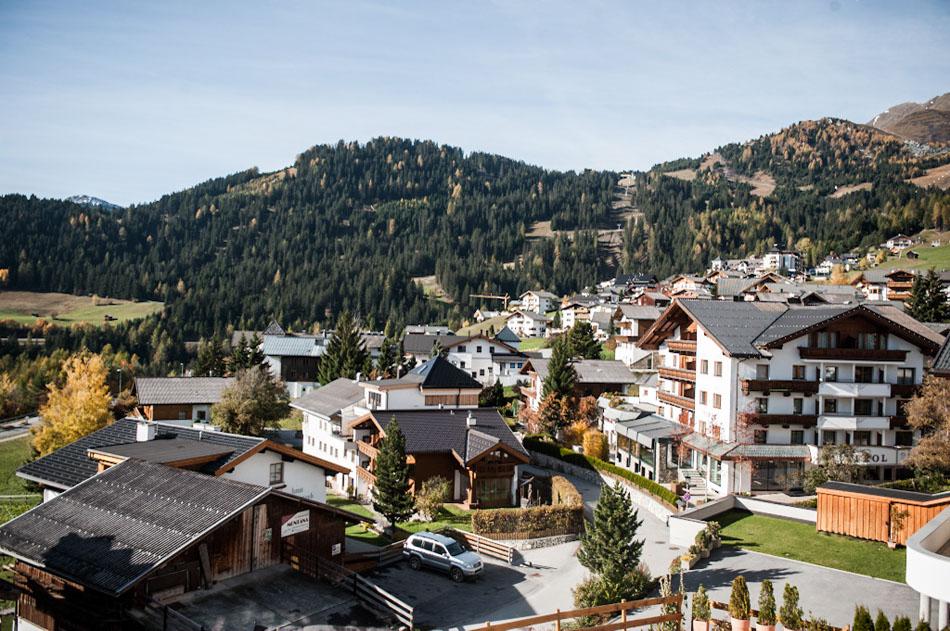 Alpenlandschaft Fiss in Tirol
