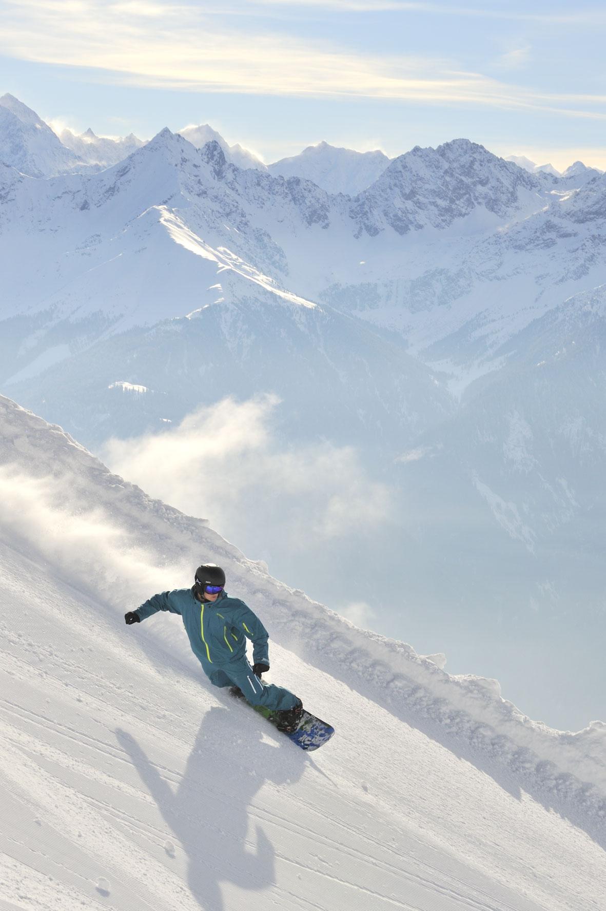 Ski- und Snowboardspaß in Serfaus-Fiss-Ladis