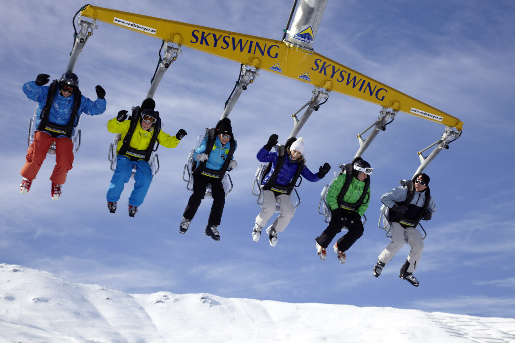 Skyswing in Serfaus-Fiss-Ladis
